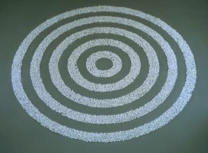 Small White Pebble Circles 1987 Richard Long born 1945 Presented by Janet Wolfson de Botton 1996 http://www.tate.org.uk/art/work/T07160